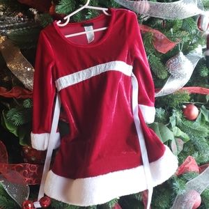 Holiday Editions sparkle Christmas dress sz 4-5